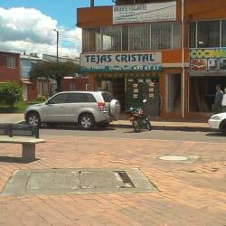 Tejas Cristal Diagonal 80A con 86 en Bogotá
