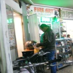 Fire Art en Bogotá