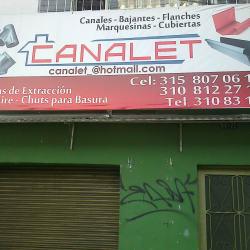 Canalet en Bogotá