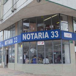 Notaría 33 - Carrera 7 en Bogotá