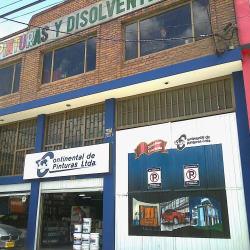 Continental de Pinturas Ltda en Bogotá