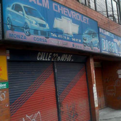 Alm Chevrolet en Bogotá
