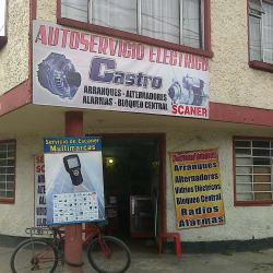 Autoservicio Eléctrico Castro en Bogotá