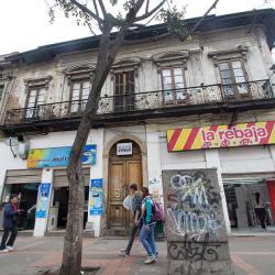 Mapa Teatro en Bogotá