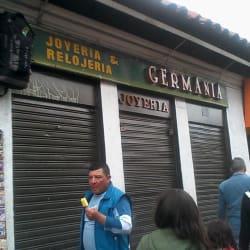 Relojería y Joyería Germania en Bogotá