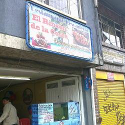 Restaurante Pescadería El Rincón de la Costa en Bogotá