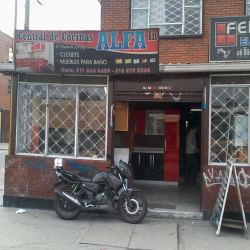 Central de Cocinas y Muebles Alfa en Bogotá