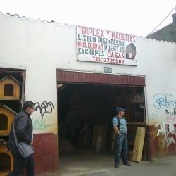 Triplex y Maderas en Bogotá