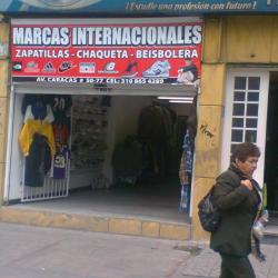 Marcas Internacionales en Bogotá