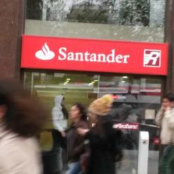 Banco Santander El Regidor en Santiago