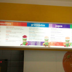 Boost Juice Bars - Plaza Vespucio en Santiago