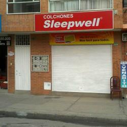 Colchones Sleepwell Carrera 102 con 20 en Bogotá