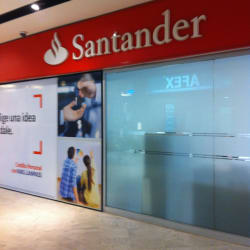 Banco Santander Parque Arauco en Santiago