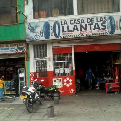 Serviteca el Mono en Bogotá