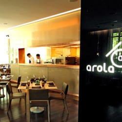 Arola Restaurant en Santiago