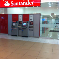 Banco Santander Costanera Center en Santiago