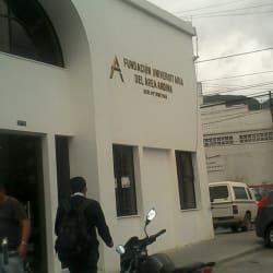 Fundación Universitaria del Área Andina Sede Optometria en Bogotá