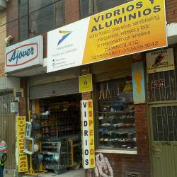 Vidrios y Aluminios Calle 18 en Bogotá