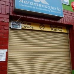 Aeromensajería en Bogotá