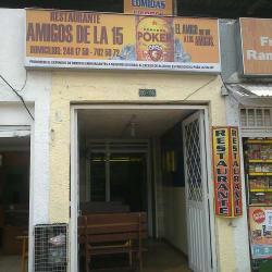 Restaurante Amigos de la 15 en Bogotá