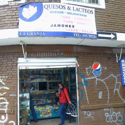 Quesos y Lacteos La Granja en Bogotá