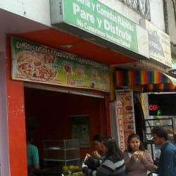 Frutería y Comidas Rapidas Pare y Disfrute en Bogotá