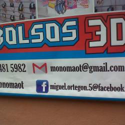 Accesorios M & E Bolsos 3D en Bogotá