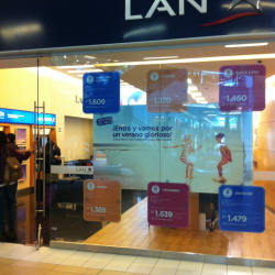LAN - Mall Costanera Center en Santiago