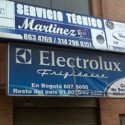 Servicio Técnico Martínez en Bogotá