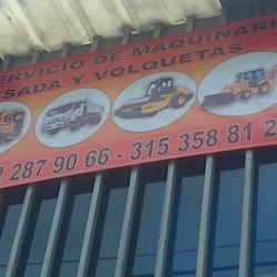 Alquiler Maquinaría Pesada en Bogotá