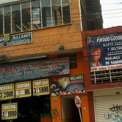 Club de Billares El Mirador en Bogotá