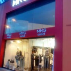 Mng Outlet en Bogotá