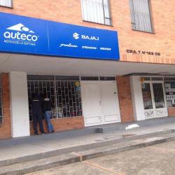Auteco Motos de la Séptima en Bogotá