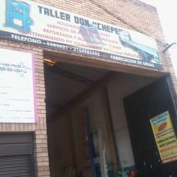Taller Don Chepe en Bogotá
