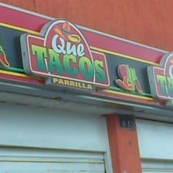 Que Tacos en Bogotá