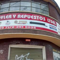 Trayler Y Repuestos Ltda en Bogotá