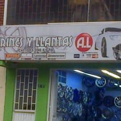 Rines y Llantas Al en Bogotá