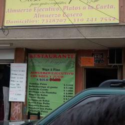 Restaurante Casa Olimpus en Bogotá