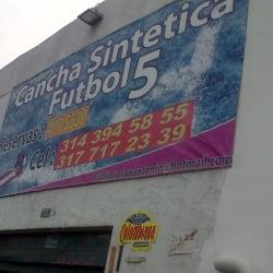 Cancha Sintética Fútbol 5 en Bogotá