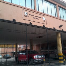 Estación Central de Bomberos Calle 11 en Bogotá