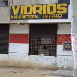Vidrios Calle 185A en Bogotá
