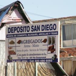 Depósito San Diego en Bogotá