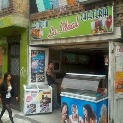 Frutería Cafetería la Ideal en Bogotá