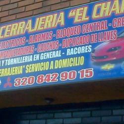 Auto Cerrajería El Chapas en Bogotá