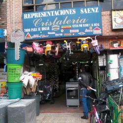 Representaciones Saenz Cristalería  en Bogotá
