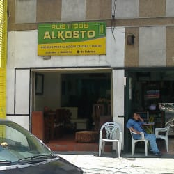 Rusticos Alkosto en Bogotá