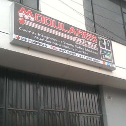Modulares Gómez en Bogotá