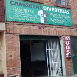 Camisetas Divertidas en Bogotá