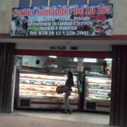Carnes Santander de la 187 en Bogotá