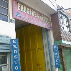 Exostos & Header La Estrada en Bogotá
